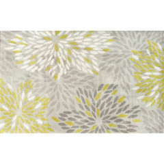 The Rug Market Astra 44285D Gray Ivry Green