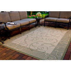 Safavieh - Courtyard CY2665 Natural-Olive