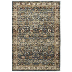 Kaleen Rugs McAlester Collection MCA09-17 Blue