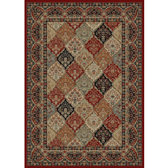 Mayberry Rugs Home Town HT7940 Panel Kerman Claret