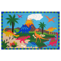 Fun Rugs - Fun Time - New Ft-16 Multi-Color