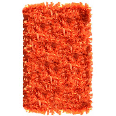 The Rug Market Shaggy 02287B Orange Neon