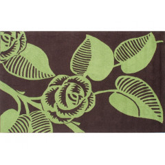 The Rug Market Deco 25279D Brown Green