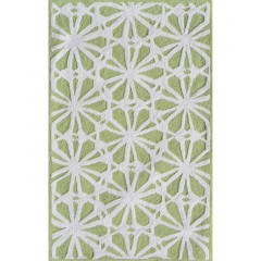 The Rug Market Connie 71144B Green White