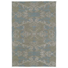 Kaleen Rugs Brushstrokes Collection BRS06-05 Gold