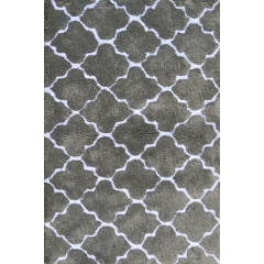 The Rug Market Cloture 03103B Grey White
