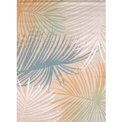 United Weavers Of America - Regional Conecepts Palm Leaves  Blue