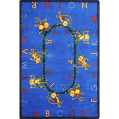 Joy Carpet - Monkey Business Kid Essentials - Early Childhood Blue