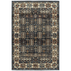 Kaleen Rugs Lucero Collection LCO01-68 Graphite