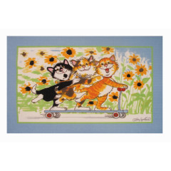 Fun Rugs - Wags & Whiskers Ww-04 Multi-Color