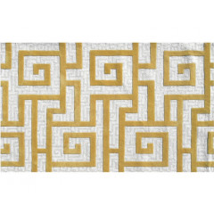 The Rug Market Rome 72334D Khaki Cream Gld
