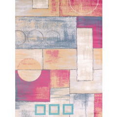 United Weavers Of America - Modern Textures Abstract  Multi