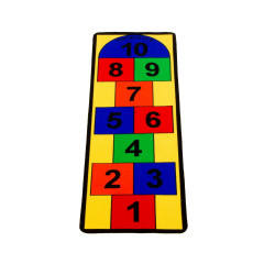 Learning Carpet - Play Hopscotch  Multi