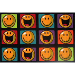 Fun Rugs - Smiley World Sw-13 Multi-Color