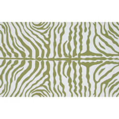 The Rug Market Zebra 25221D Green White