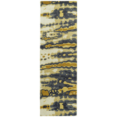 Kaleen Rugs Brushstrokes Collection BRS03-05 Gold