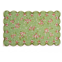 The Rug Market Emily 11291B Green Pink