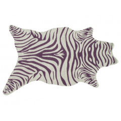 The Rug Market Zebra Vineyard 25385D Purple White