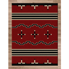 American Dakota Rugs Voices 0012RED Red