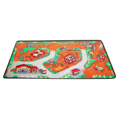 Learning Carpet - Play Construction Zone  Multi