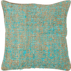 Chandra Pillows CUS-28012 Blue/Natural