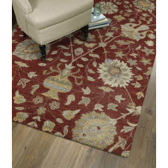 Kaleen Rugs Helena Collection 3202-25 Red