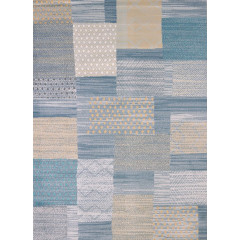 United Weavers Of America - Modern Textures Applique  Blue