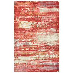 Oriental Weavers Rugs FORMATIONS F70004 Pink/ Red