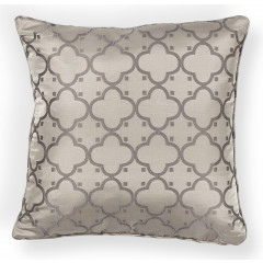 KAS Rugs Pillow PILL250 Taupe