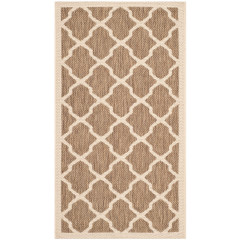 Safavieh - Courtyard CY6903 Brown-Bone