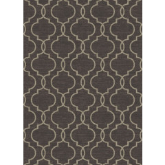 Concord Global - New Casa QUATREFOIL Brown