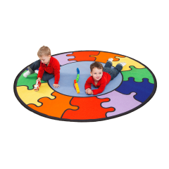 Learning Carpet - Play Rainbow Puzzle Multi