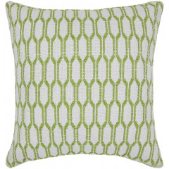 Chandra Pillows CUS-28036 White/Green