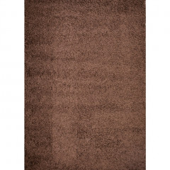 Concord Global - Shaggy PLAIN Brown
