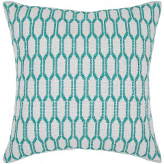 Chandra Pillows CUS-28034 White/Green