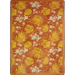 Joy Carpet - Trade Winds Kaleidoscope - Whimsical Area Rugs Coral