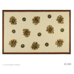 The Rug Market Floral 25204D Ylw Ivry Red