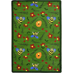 Joy Carpet - Bee Attitudes Kid Essentials - Early Childhood Green