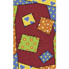 Fun Rugs - Night Flash Nf-12 Multi-Color