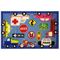Fun Rugs - Fun Time - New Ft-12 Multi-Color