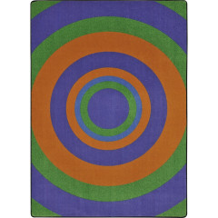Joy Carpet - Fascinate Kid Essentials - Teen Area Rugs Violet