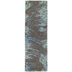 Kaleen Rugs Brushstrokes Collection BRS01-40 Chocolate