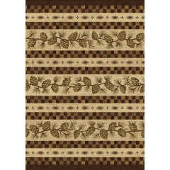 Colorado Carpets - Folk Dance Rustic Home Natural