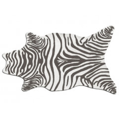 The Rug Market Zebra 25258D Grey White