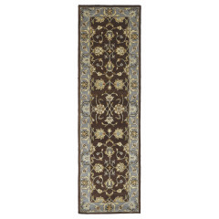 Kaleen Rugs Middleton Collection MID05-78 Turquoise