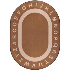 Joy Carpet - Endless Alphabet Kid Essentials - Early Childhood Mocha