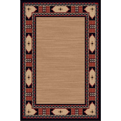 Shadow Mountain - Rustic Fusion Messa Border Red Beige