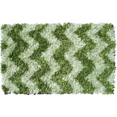 The Rug Market Shaggy 02282B Green