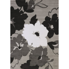 United Weavers Of America - Cristall Snow Blossom  Grey