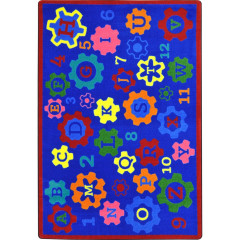 Joy Carpet - Geared For Learning Kid Essentials - Early Childhood Multi